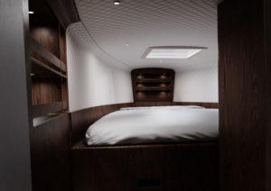 Lancha-eléctrica-Sarvo-37_interior-cama-doble