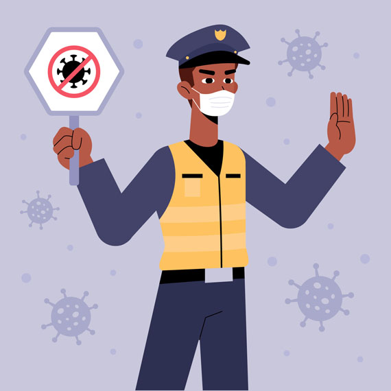 policia-senal-coronavirus