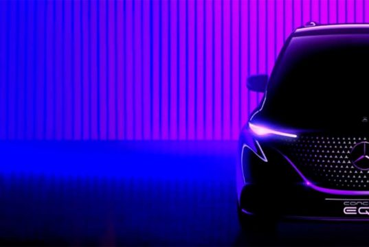 Mercedes-Benz EQT, una nueva furgoneta premium eléctrica que será presentada el 10 de mayo