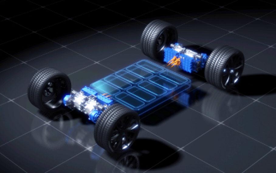 chasis-cuatro-motores-Yamaha-instalados
