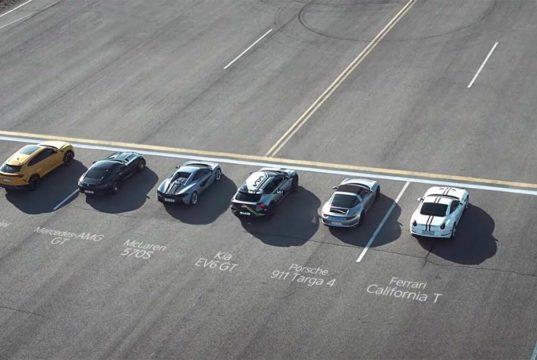 ¿Qué pasa si enfrentamos al KIA EV6 a los mejores deportivos de gasolina? La respuesta está en el vídeo