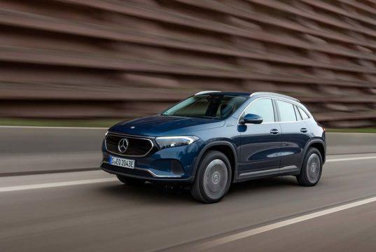 2 nuevas versiones con tracción total llegan al Mercedes-Benz EQA