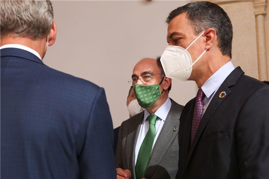 Presidente-Iberdrola_Ignacio-Galan-Presdente-Gobierno_Pedro-Sanchez