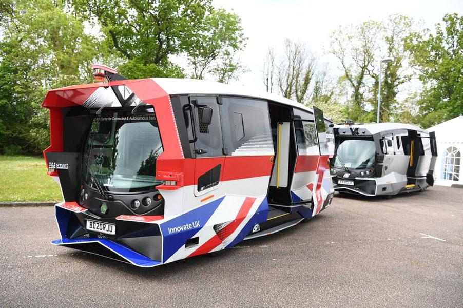 autobus-electrico-autonomo-Cambridge