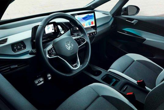 El interior del Volkswagen ID.3 recibirá mejoras de calidad