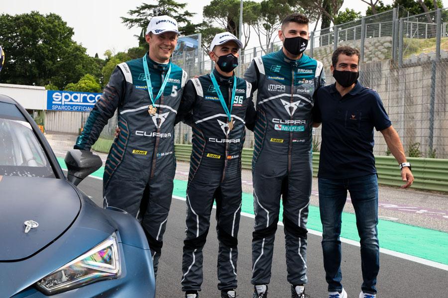 CUPRA-ganador-primera-carrera-campetonato-ETCR-electrico