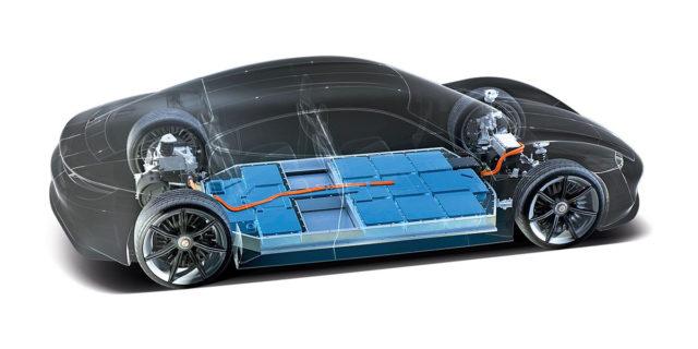 Porsche-vehiculo-bateria