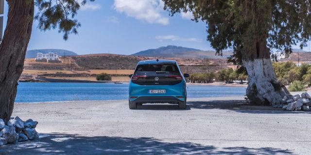 Volkswagen-ID-3-isla-griega-Astypalea