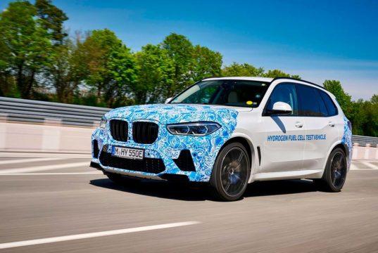 BMW inicia las pruebas de su coche de hidrógeno, el BMW i Hydrogen Next