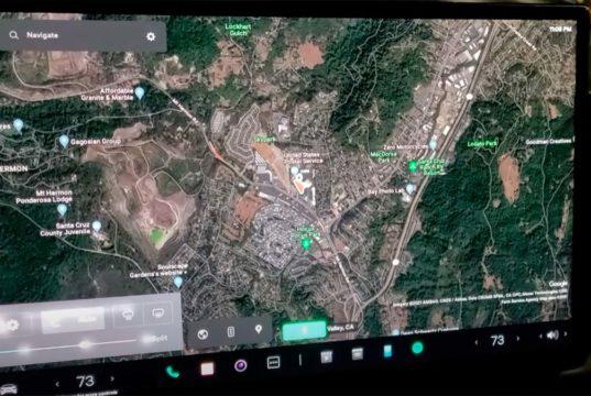 La nueva interfaz del software V11 de Tesla al descubierto