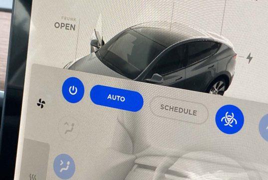 ¿Sabías que el Tesla Model Y incluye el filtro HEPA para que el habitáculo sea más seguro?