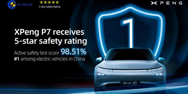 Xpeng-P7-consigue-cinco-estrellas-test-seguridad-C-NCAP-China