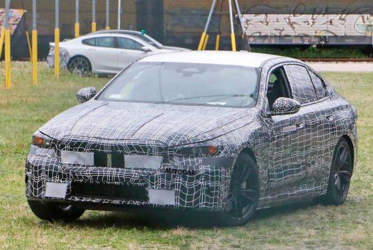 El nuevo BMW Serie 5 cazado por primera vez y su diseño es totalmente diferente