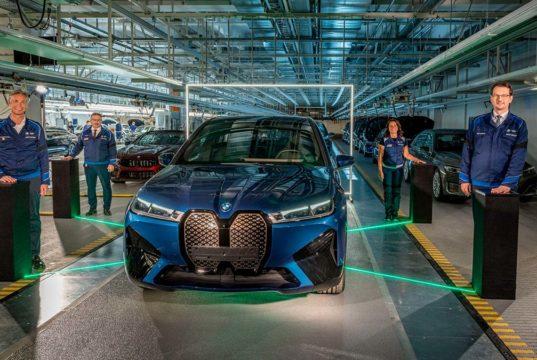 La producción del BMW iX ya ha comenzado en la planta de Dingolfing