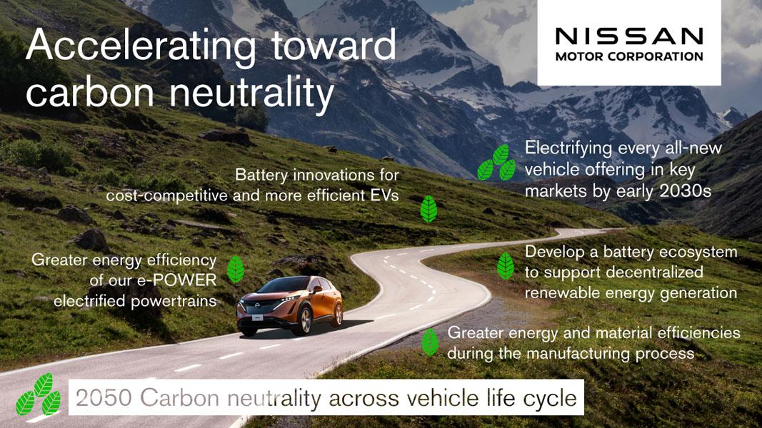 Nissan-compromiso-neutralidad-carbono-2050