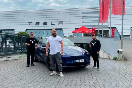 Se inician las entregas del Tesla Model Y en Europa