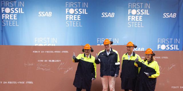 primera-entrega-acero-libre-fosiles-HYBRIT-SSAB_Volvo