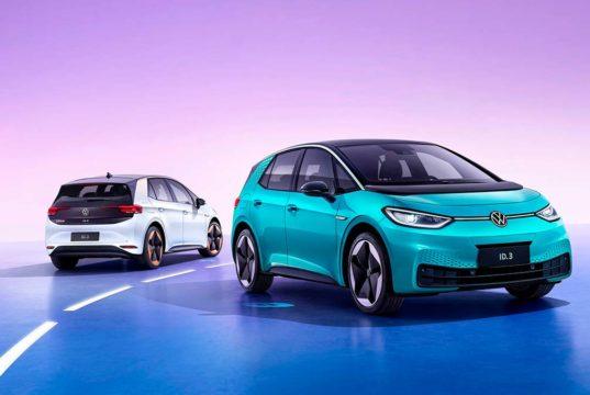 El Volkswagen ID.3 llega al mercado chino