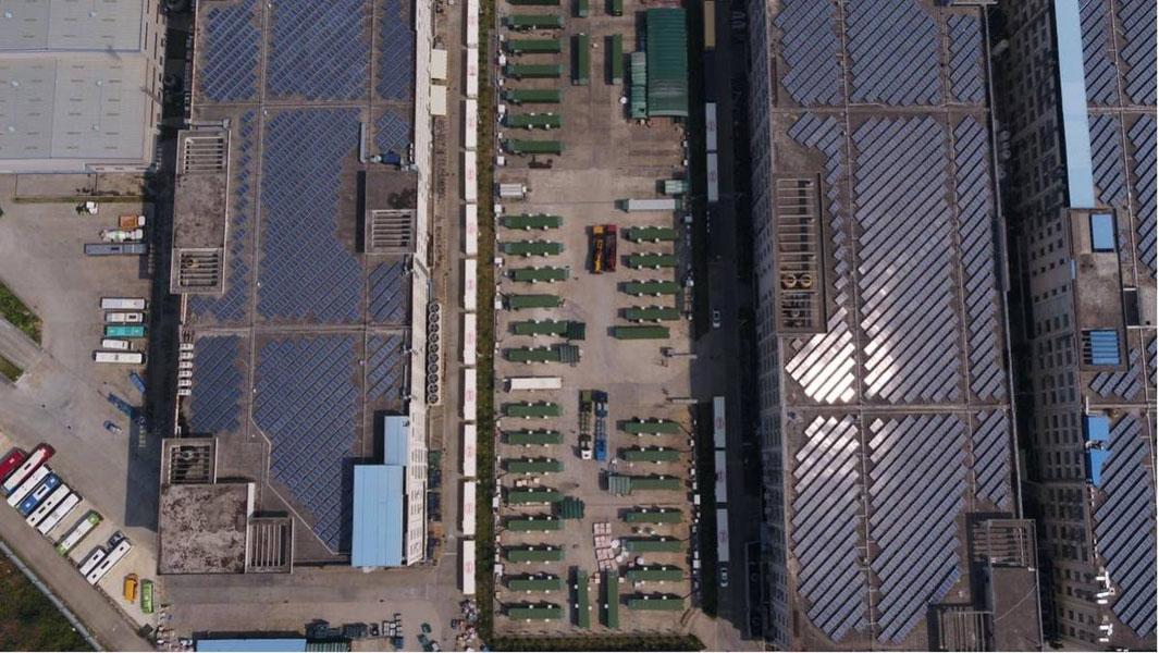 Campus-Pingshan-cero-emisiones-BYD_sistema-fotovoltaico