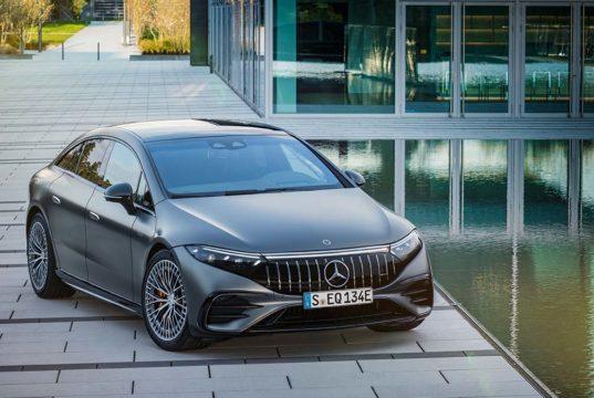 Mercedes-AMG EQS 53 4MATIC+, 762 CV de potencia y 1.020 Nm