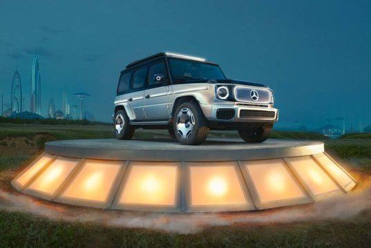 El concept Mercedes-Benz EQG al descubierto