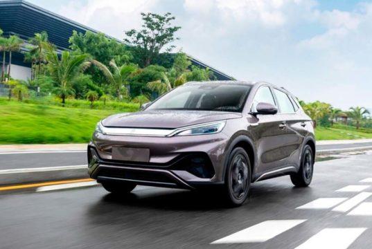 BYD Yuan Plus, así es el nuevo SUV eléctrico del fabricante chino