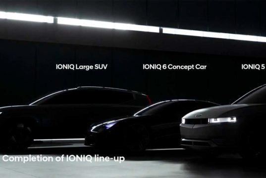 El IONIQ 7 se deja ver sutilmente por primera vez