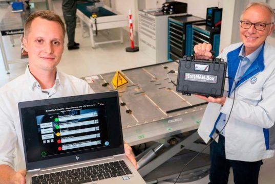 BattMAN, el software de Audi para determinar que hacer con una batería
