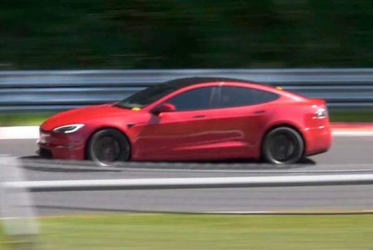 El Tesla Model S Plaid ya es el coche eléctrico de producción con mejor tiempo en Nürburgring
