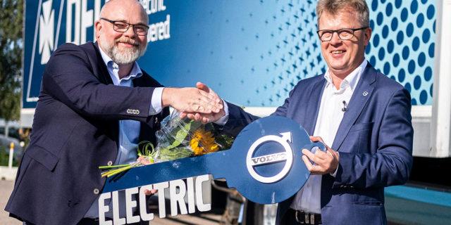 Pedido-Volvo-Trucks-camiones-electricos-DFDS
