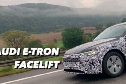 El nuevo Audi e-Tron pillado en la carretera