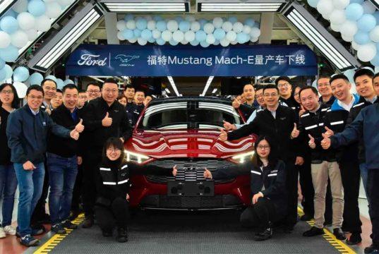 Ford ya fabrica el Mustang Mach-E en China