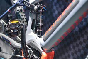 Bicicleta eléctrica de montaña de Peugeot