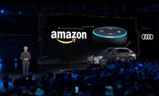 Amazon y Audi