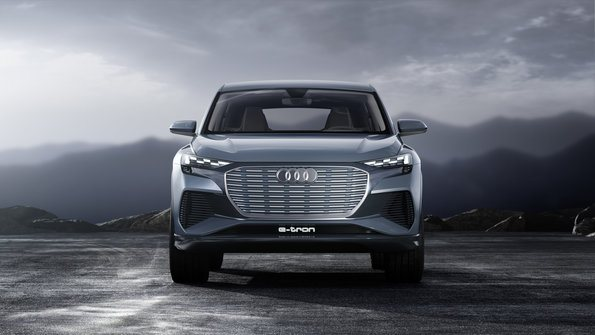 frontal Audi Q4 e-tron concept
