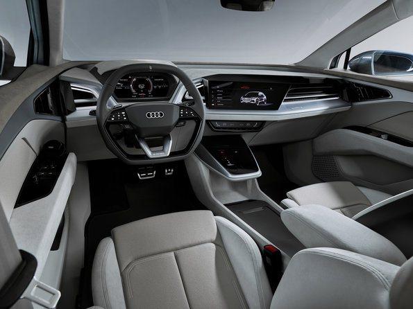 interior Audi Q4 e-tron concept