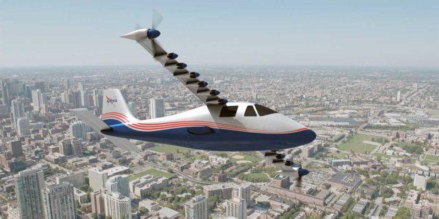 Avión eléctrico de la NASA