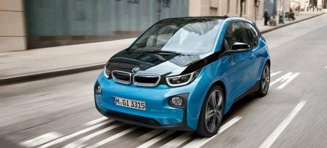 Imagen del BMW i3, el vehículo eléctrico de la marca alemana