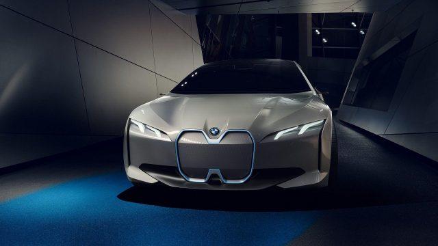 Imagen del BMW i4, el concept sedan totalmente eléctrico de BMW
