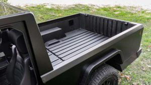 Bollinger B2, detalle de la pickup