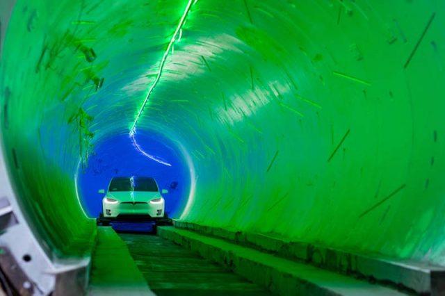 Boring-company-tunel-loop