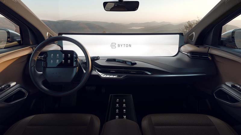 Byton-M_Byte-CES_2019-Interior_Vista-plazas-delanteras-Pantallas