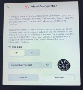 Novedad en la versión del software de Tesla