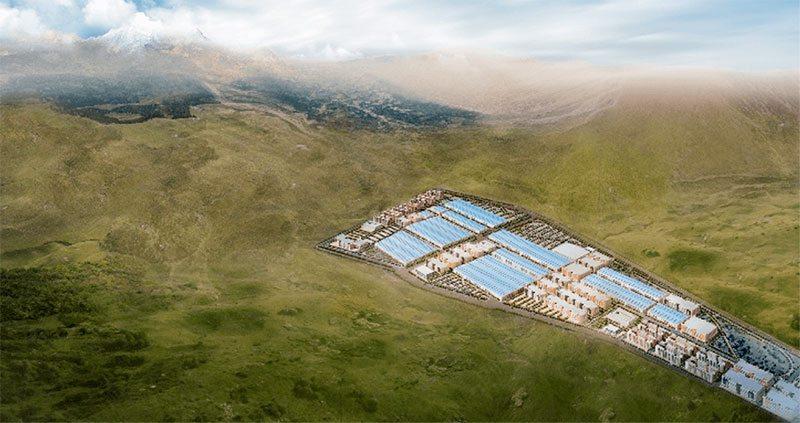 Nueva fábrica de BYD en Qinghai
