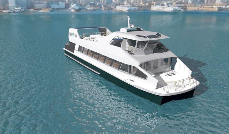 Ferry eléctrico de SW/TCH e-Mobility para la ciudad de Nueva York
