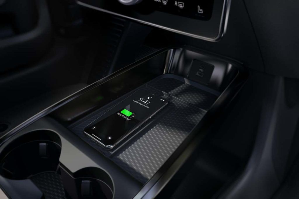 Detalle del interior del Ford Mustang Mach E