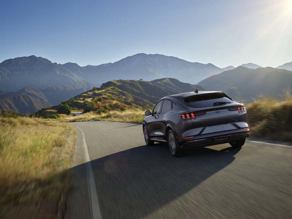 Foto del Frunk delantero del Ford Mustang Mach E