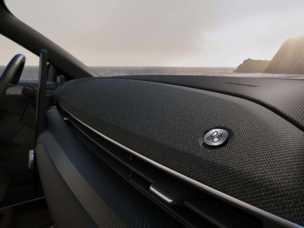 Equipo de música del Ford Mustang Mach E