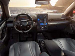 Interio Ford Mustang Mach E