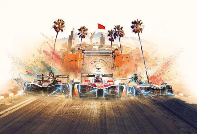Imagen del Gran Premio de Marrakech - Formula E
